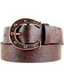 Ariat Women's Horseshoe Belt, , hi-res