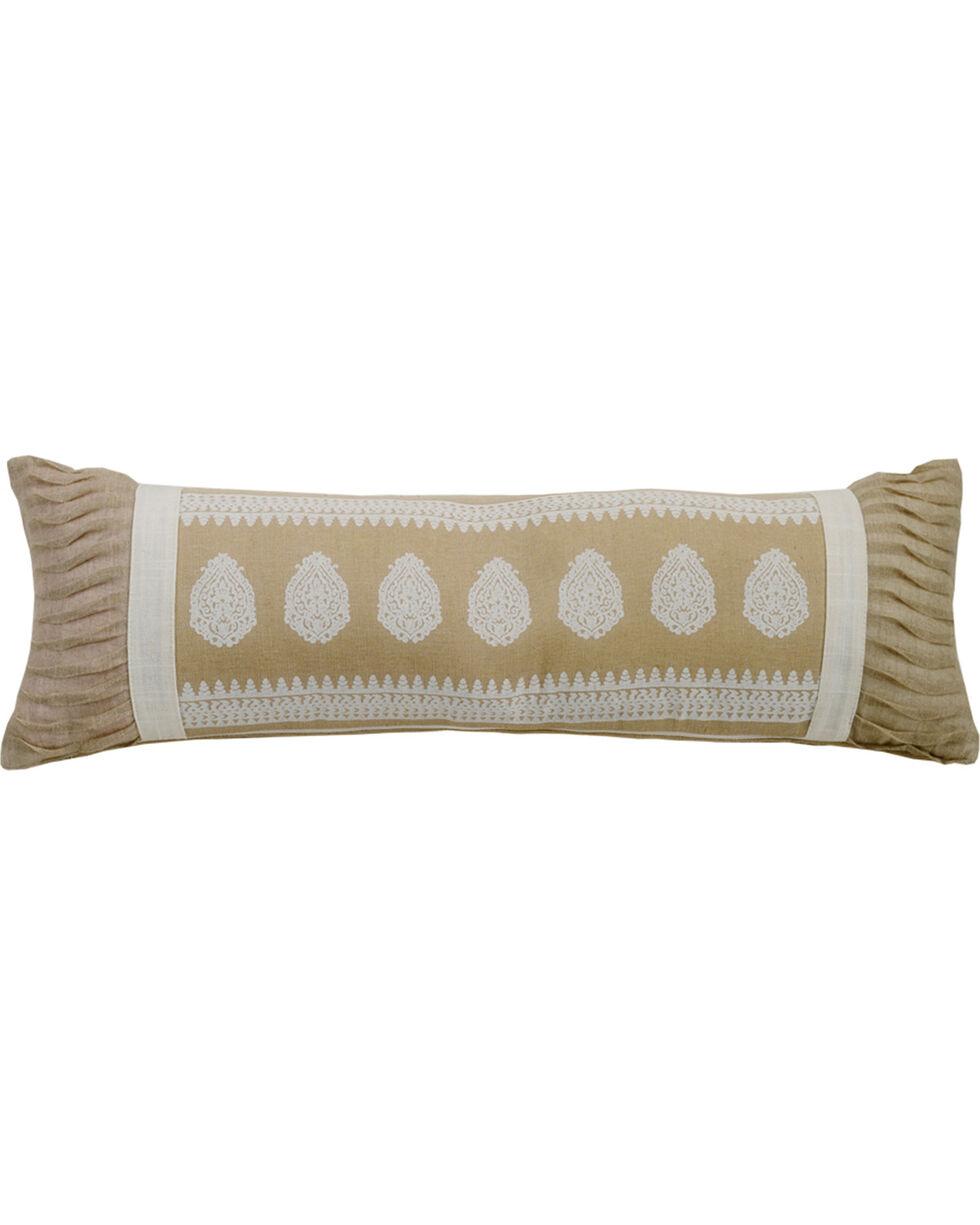 HiEnd Accents Cream Newport Extra Long Pillow, Cream, hi-res