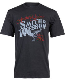 Smith & Wesson Men's Winged Pistol T-Shirt, , hi-res