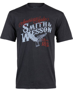 Smith & Wesson Men's Winged Pistol T-Shirt, Black, hi-res