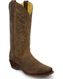 Justin Men's Apache Embroidered Western Boots, , hi-res
