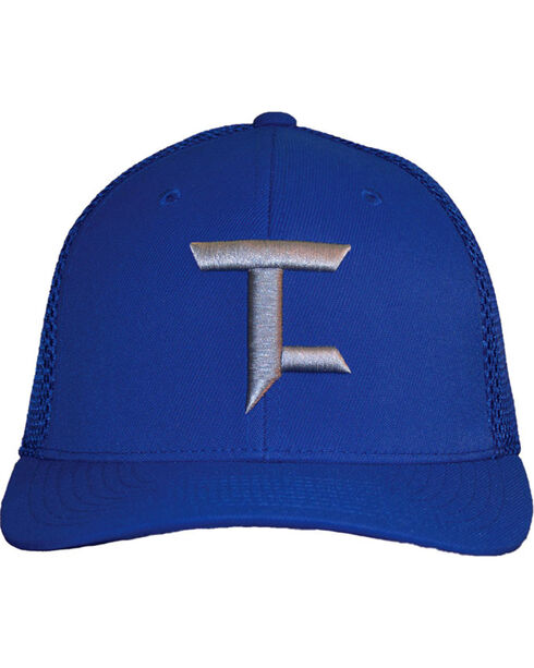 Tuf Cooper by Panhandle Men's Tech Fabric Ball Cap, Blue, hi-res