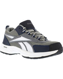 Reebok Men's Kenoy Cross Trainer Work Shoes - Steel Toe, , hi-res
