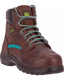 John Deere® Women's Met Guard Work Boots, , hi-res