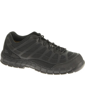 CAT Footwear Men's Streamline Composite Toe Work Shoes, Black, hi-res