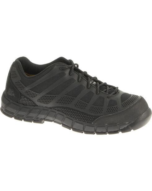 CAT Footwear Men's Streamline Composite Toe Work Shoes, Black, hi-res