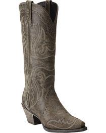Ariat Women's Heritage Western X Toe Wingtip Western Boots, , hi-res