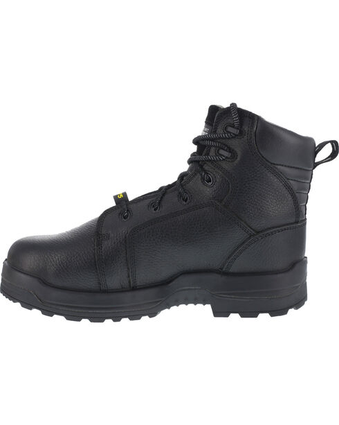 "Rockport More Energy Black 6"" Lace-Up Work Boots - Composite Toe, Black, hi-res"