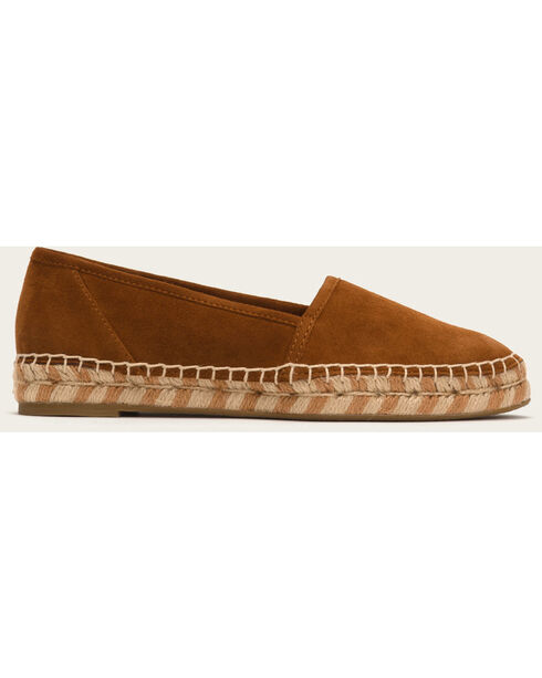 Frye Women's Nutmeg Suede Lee A Line Slip-Ons, Lt Brown, hi-res