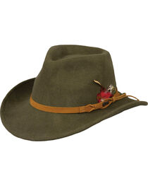 Outback Unisex Randwick Tassy Crusher Hat, , hi-res
