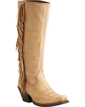 Ariat Women's Leyton Western Boots, Honey, hi-res