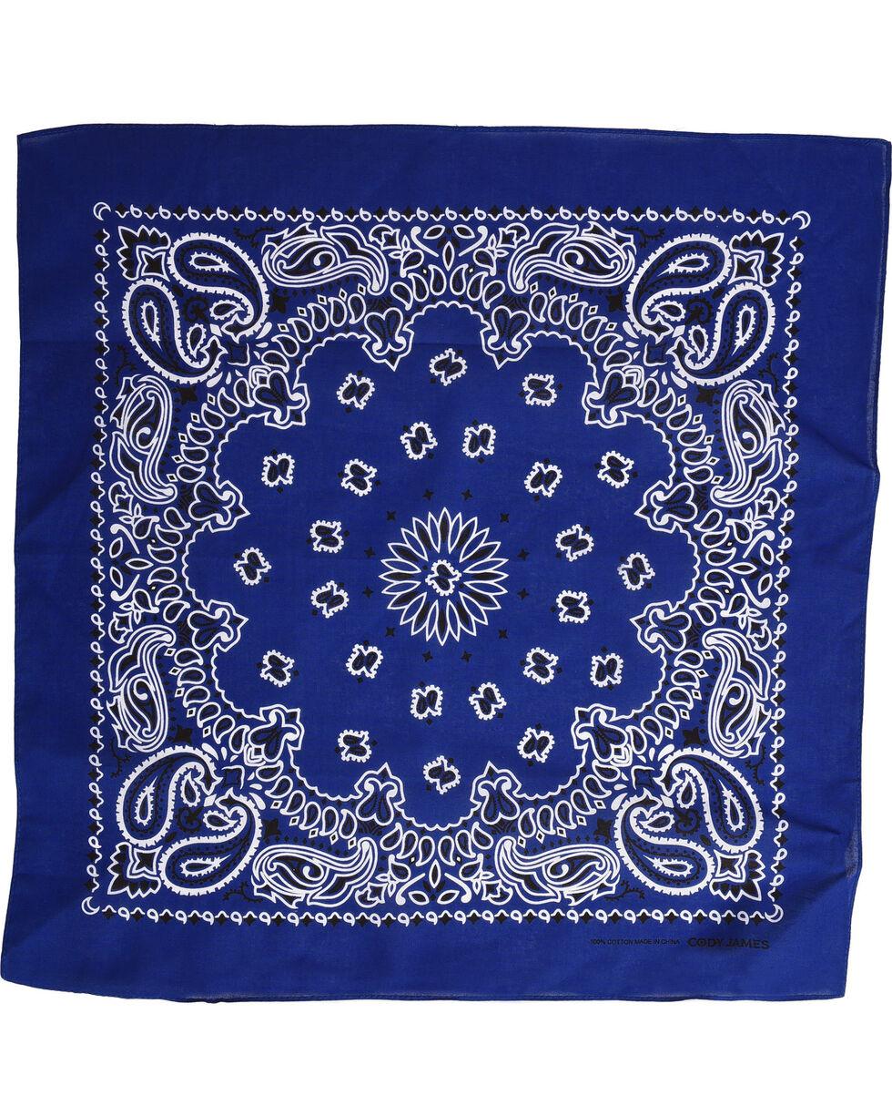 Shyanne Women's Royal Blue Bandana, Royal Blue, hi-res