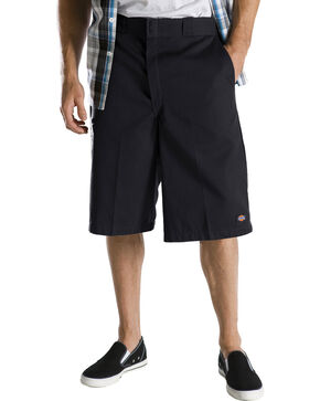 "Dickies 13"" Loose Fit Multi-Pocket Shorts - Big & Tall, Black, hi-res"