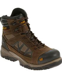 CAT Men's Compressor Waterproof Composite Toe Work Boots, , hi-res