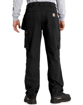Carhartt Men's Lumberport Ripstop Pants, Black, hi-res