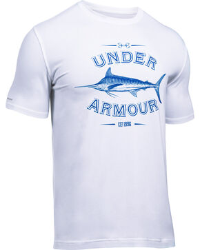 Under Armour Men's Classic Marlin Graphic T-Shirt, White, hi-res