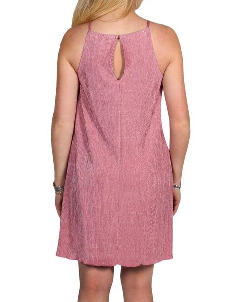 Golden Touch Women's Strappy Dress, Mauve, hi-res