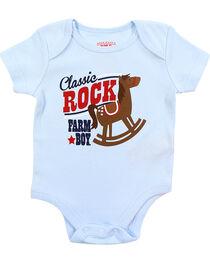 Farm Boy Infants' Classic Rock Short Sleeve Onesie, , hi-res