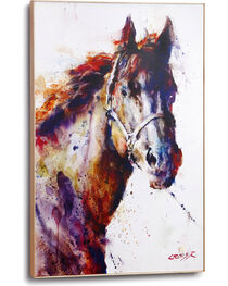 Big Sky Carvers Poncho Horse Large Wall Art, White, hi-res