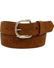Nocona Men's Floral Distressed Belt , , hi-res
