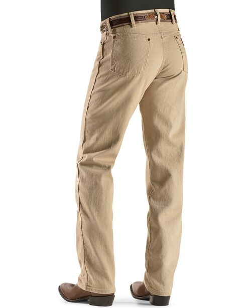 Wrangler Jeans - 13MWZ Original Fit Prewashed Colors, Tan, hi-res