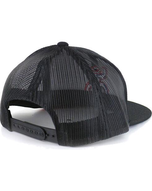 HOOey Men's Texican Trucker Hat, Black, hi-res