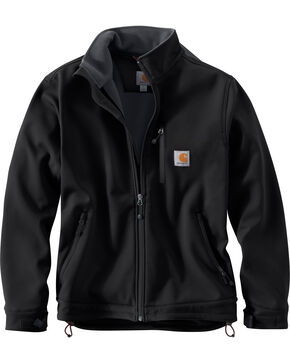 Carhartt Men's Crowley Jacket - Big & Tall, Black, hi-res