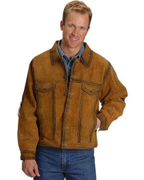 Kobler Rusty Suede Leather Jacket, Acorn, hi-res