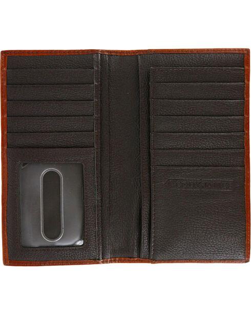 Cody James® Men's Hair-on-Hide Rodeo Wallet, Brown, hi-res