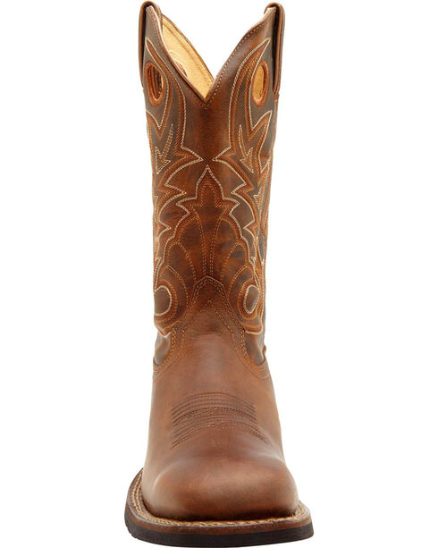 Rocky Men's Handhewn Western Boots, Brown, hi-res