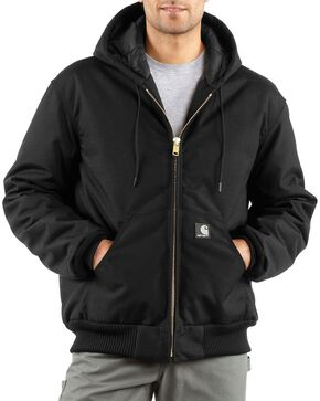 Carhartt Men's Extremes Active Arctic Quilt Lined Jacket, Black, hi-res