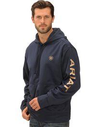 Ariat Eclipse Tek Fleece Logo Hoodie, , hi-res