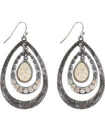 Shyanne® Women's Layered Teardrop Earrings, , hi-res