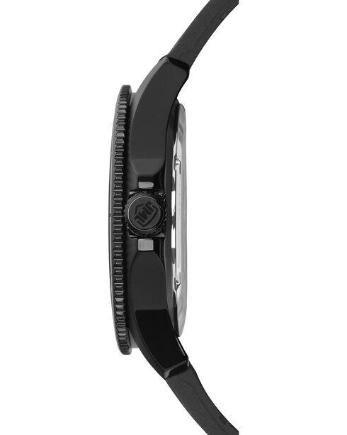 Jack Mason Men's Texas Blackout Silicone Watch , Black, hi-res