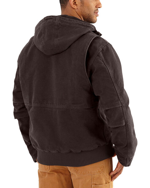 Carhartt Men's Dark Brown Full Swing Armstrong Active Jacket - Tall , Dark Brown, hi-res