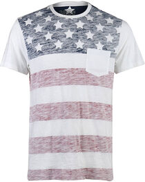American Republic Boys' Americana T-Shirt , White, hi-res