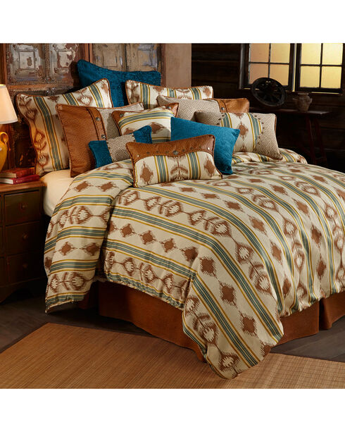 HiEnd Accents Alamosa Five-Piece Twin Bedding Set, Multi, hi-res