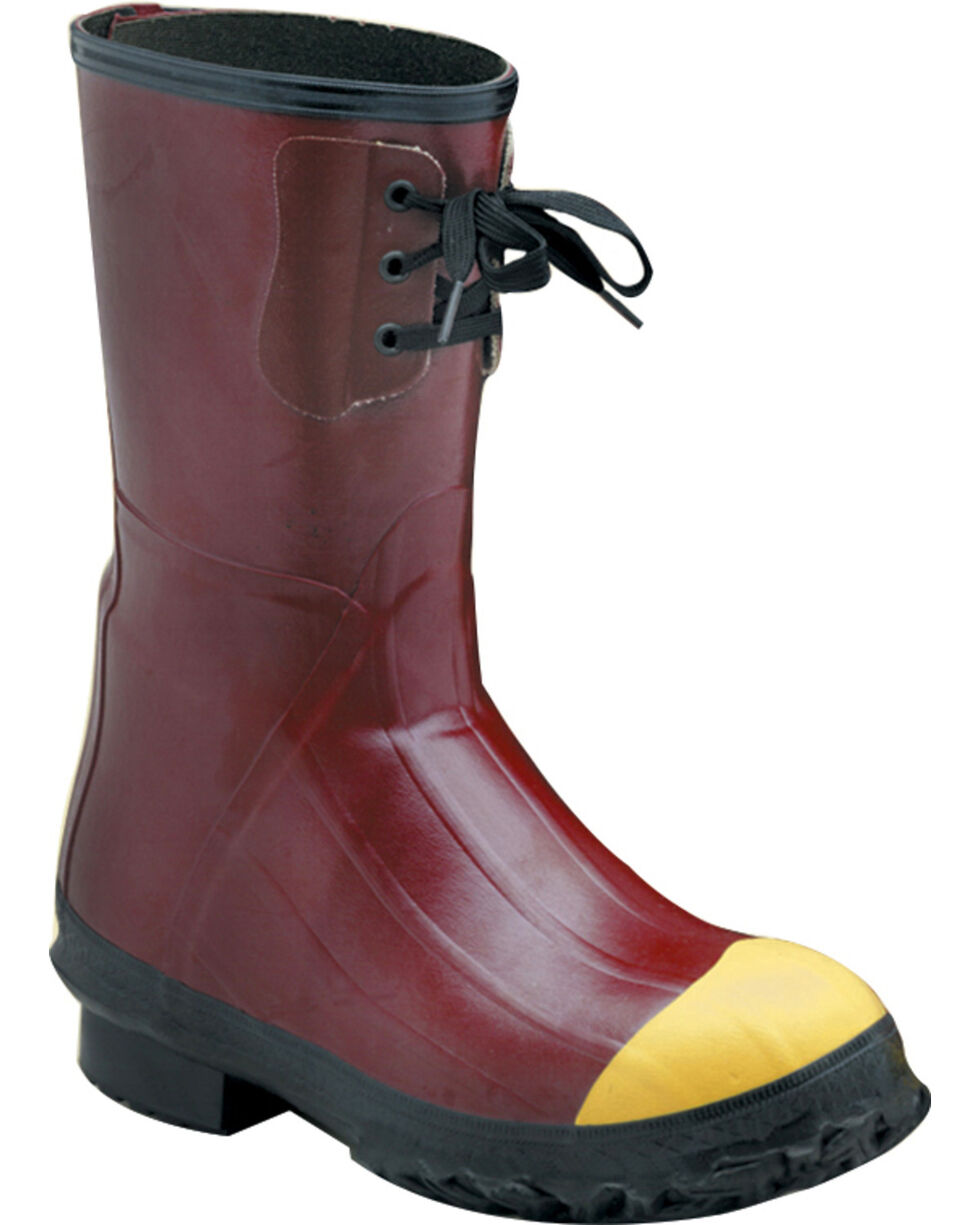 """Lacrosse Men's Insulated PAC 12"""" Steel Toe Work Boots, Red, hi-res"""