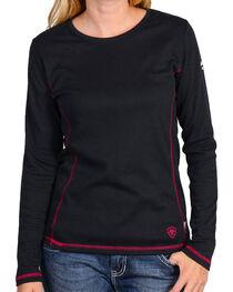 Ariat Women's Flame Resistant Polartec Powerdry Work Shirt, , hi-res