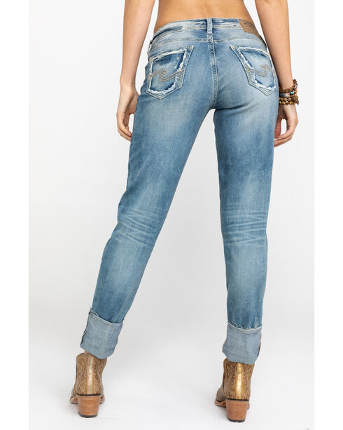 Silver Jeans Women's The Mom High Rise Jean, Indigo, hi-res