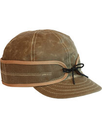 Stormy Kromer Men's Tan Waxed Cotton Cap, , hi-res