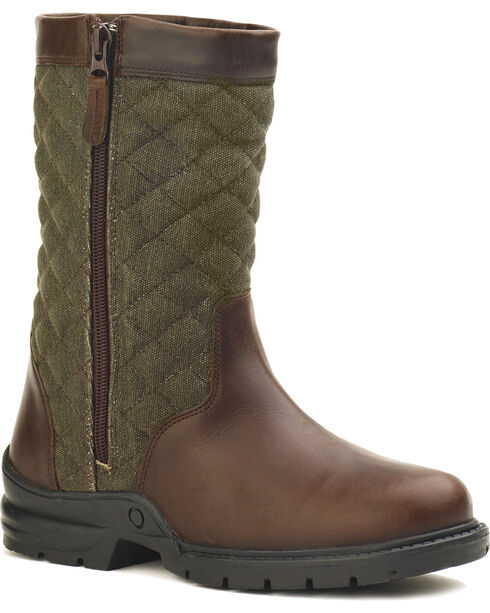 Ovation Women's Nora Country Boots, Brown, hi-res