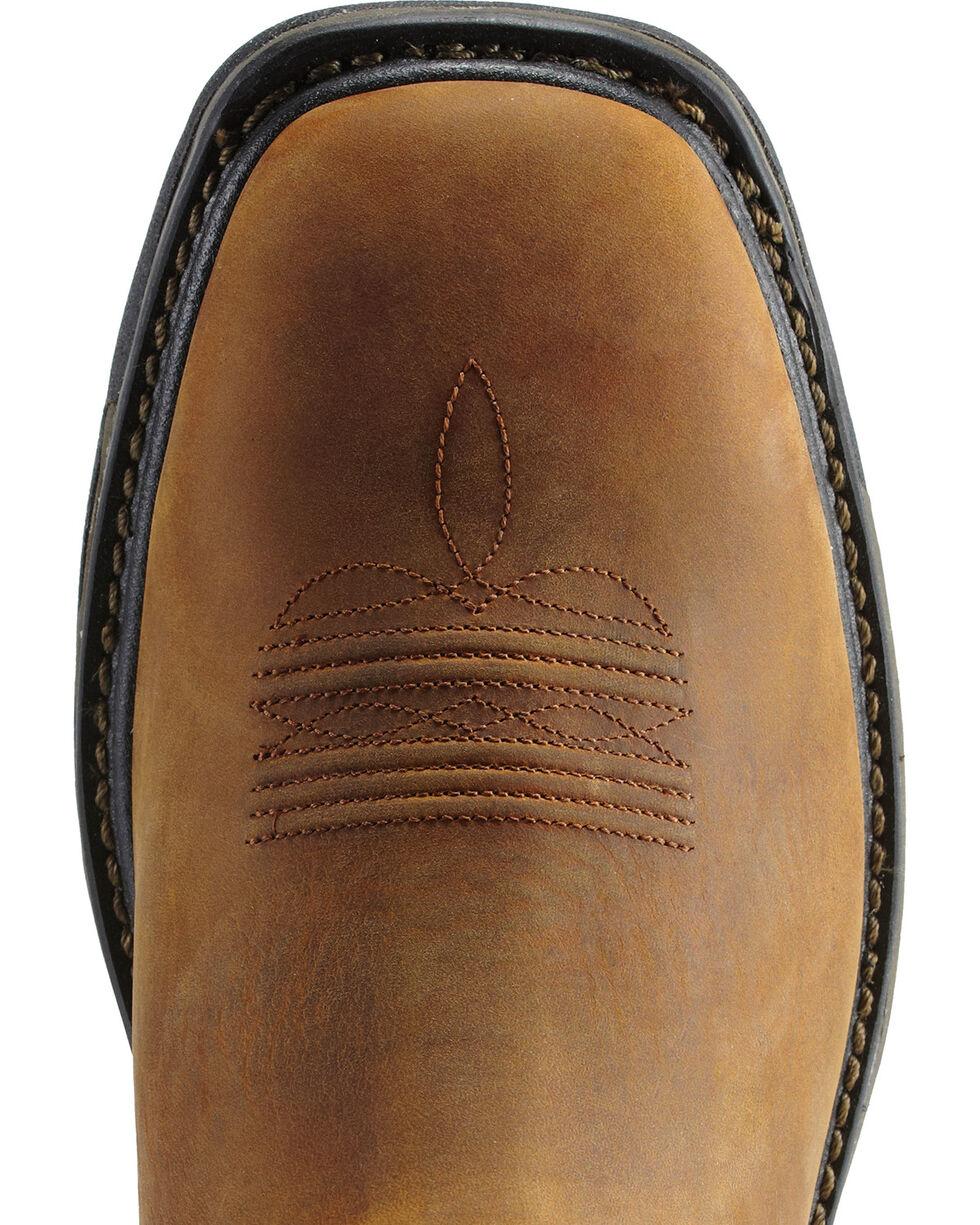 Ariat Men's Workhog H2O Waterproof Steel Toe Western Work Boots, Aged Bark, hi-res