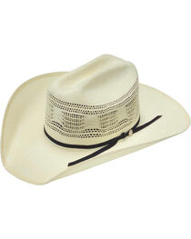 Bailey Desert Breeze Straw Cowboy Hat, , hi-res