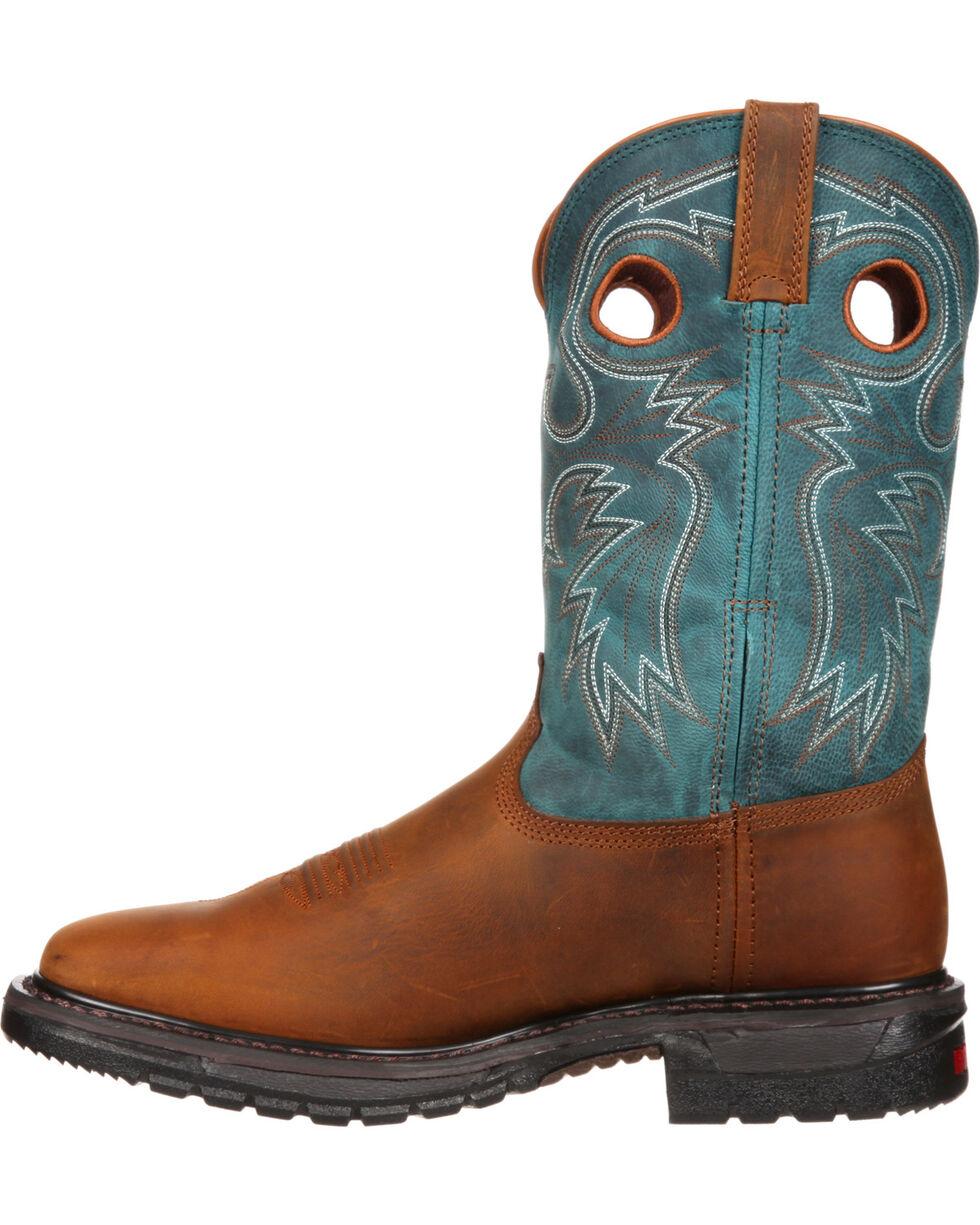 Rocky Original Ride Western Boots - Square Toe, , hi-res