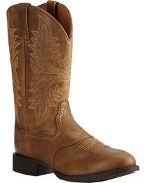 Ariat Men's Heritage Hackamore Western Boots, , hi-res