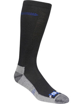 Carhartt Force Extremes Black Wool Crew Socks, Black, hi-res