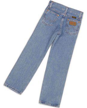 Wrangler Boys' ProRodeo Jeans Size 8-16, Stonewash, hi-res