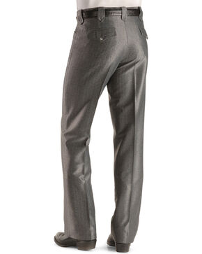 Circle S Men's Charcoal Dress Ranch Pants , Charcoal, hi-res