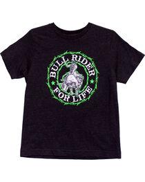 Cowboy Hardware Boy's Bull Rider Short Sleeve Tee, , hi-res